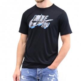 Tee-shirt Dryfit HALFTONE Noir Garçon Nike