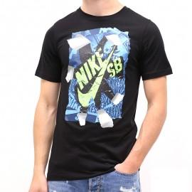 Tee-shirt RIP TEE Noir Garçon Nike
