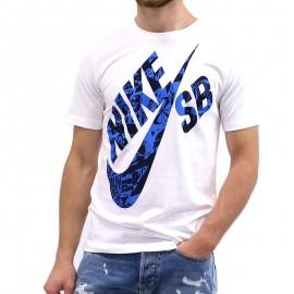 Tee-shirt SHADOW TEE Blanc Garçon Nike