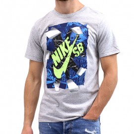 Tee-shirt RIP TEE Gris Garçon Nike