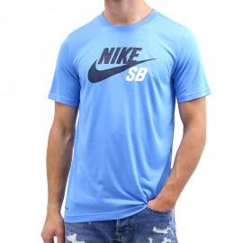 Tee-shirt Dryfit Fri Fit Bleu Garçon Nike