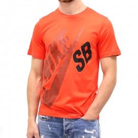 Tee-shirt LOGO TEE Rouge Garçon Nike