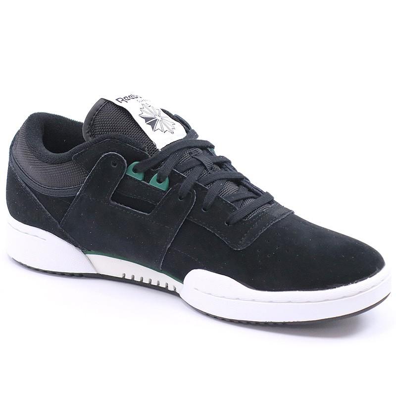Baskets Chaussures Reebok Workout Noir Low Clean Homme 8wmyvnN0O