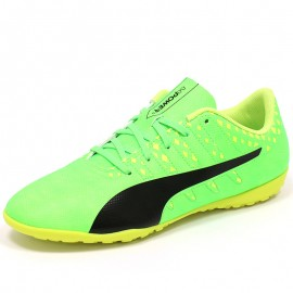 Chaussures Evopower vigor 4 TT Vert Football Garçon Puma