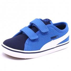 Chaussures Elsu V2 Canvas Bleu Bébé Garçon Puma