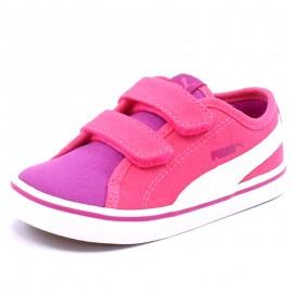Chaussures Elsu V2 Canvas Rose Bébé Fille Puma