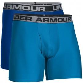 Lot de 2 Boxers Original 6 Bleu Homme Under Armour