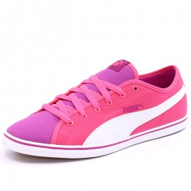 Chaussures Elsu V2 Canvas Rose Fille Puma