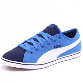 Chaussures Elsu V2 Canvas Bleu Garçon Puma