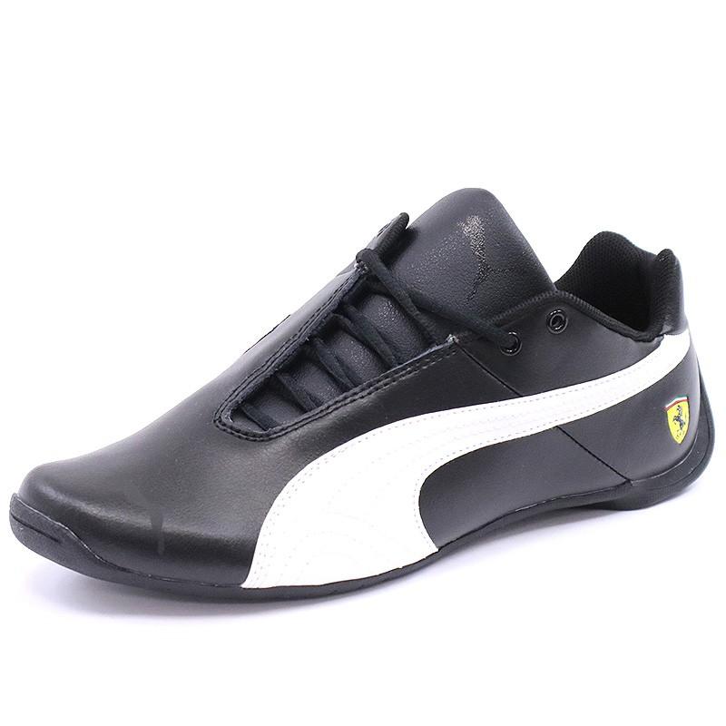 cf1214c62b Chaussures Future Cat Scuderia Ferrari Noir Garçon Puma - Baskets