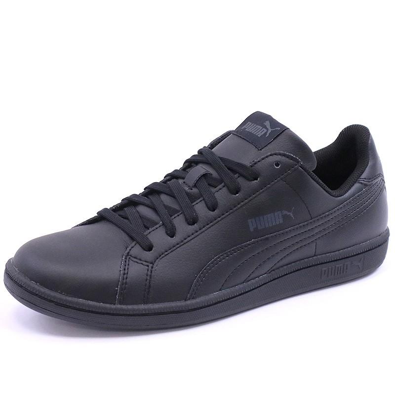 designer fashion 3e5b9 ce242 Chaussures Smash L Noir Homme Puma