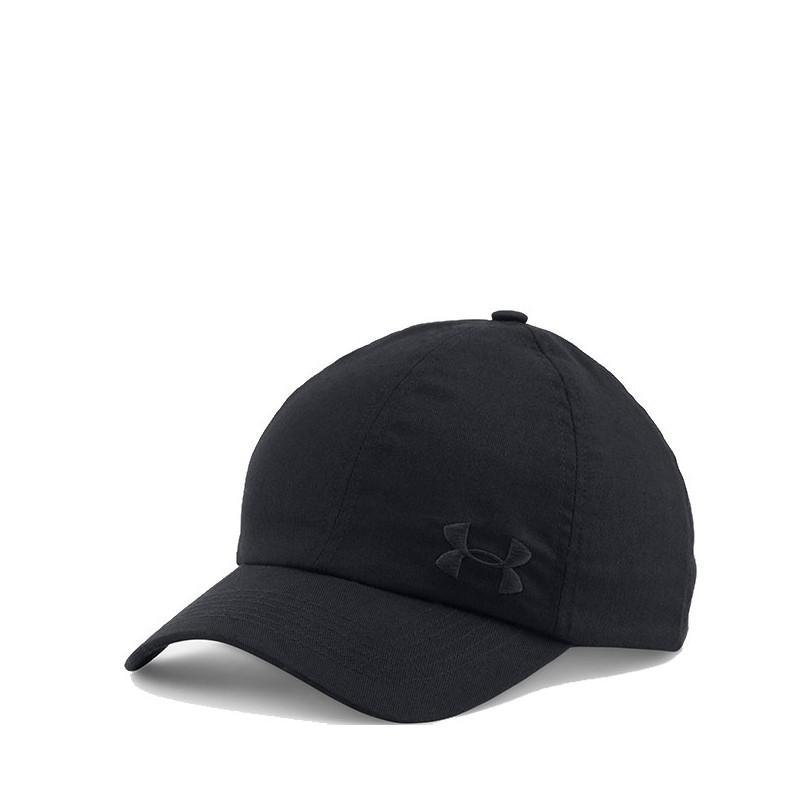 casquette ajustable solid noir femme under armour casquettes. Black Bedroom Furniture Sets. Home Design Ideas