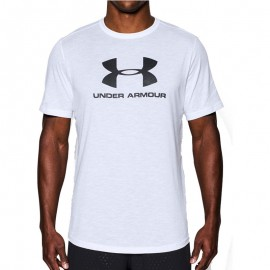Tee shirt Sportstyle Blanc Homme Under Armour