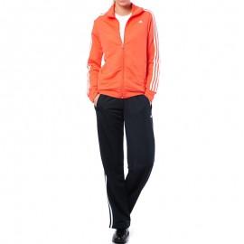 Survêtement Ess 3S Knit Entrainement Orange Femme Adidas