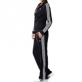 Survêtement Ess 3S Knit Entrainement Noir Femme Adidas