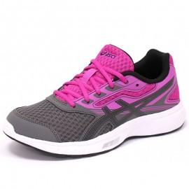 Chaussures Stormer GS Rose Running Femme Asics