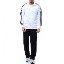 Survêtement ESS 3S blanc Entrainement Homme Adidas