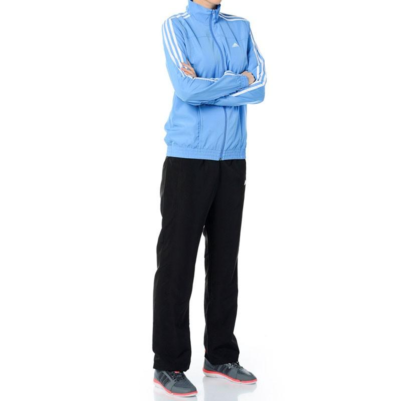 survêtement femme adidas bleu