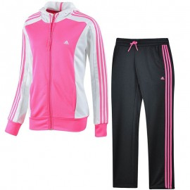 Survêtement New YOUNG KNIT Rose Femme Adidas