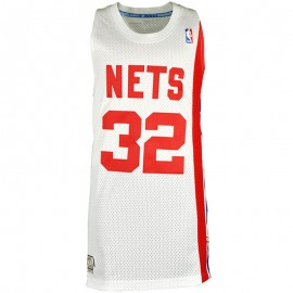 Maillot Swingman J. Erving New York Nets Blanc Homme Basketball Adidas