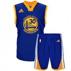 Ensemble Maillot/Short Stephen Curry Golden State Warriors Basketball Garçon Adidas
