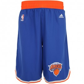 Short Swingman NY Knicks Bleu Basketball Homme Adidas