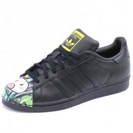 Chaussures Superstar Pharrell Williams Noir Homme Adidas