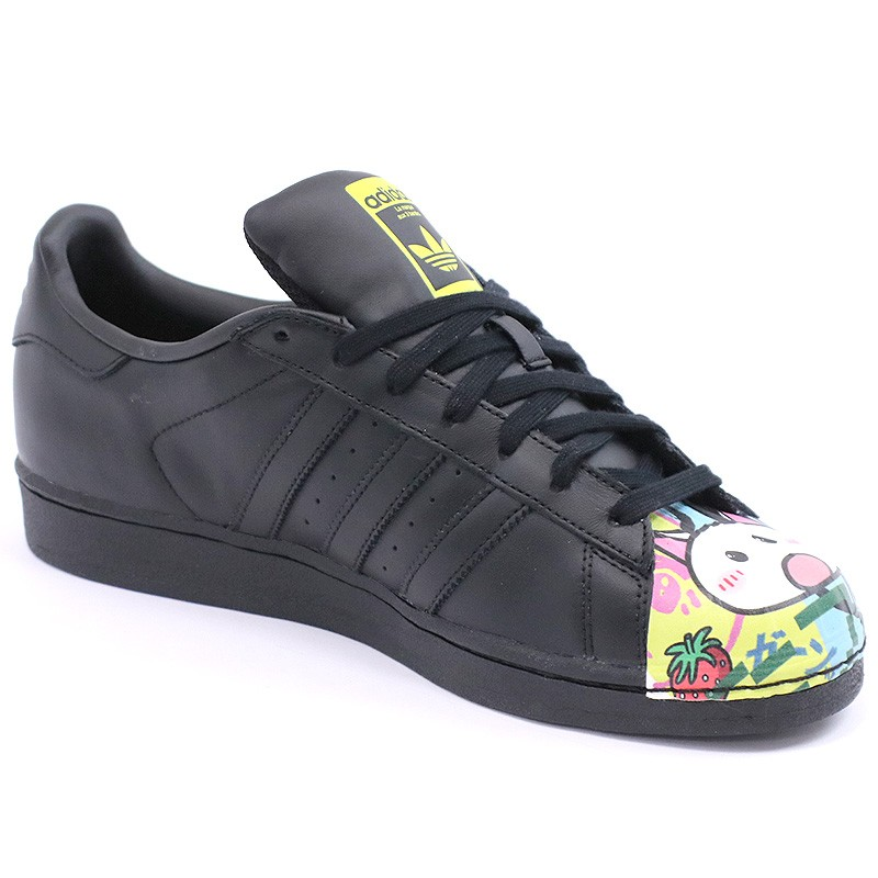 chaussures superstar pharrell williams noir homme femme adidas. Black Bedroom Furniture Sets. Home Design Ideas