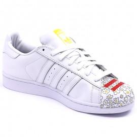 Chaussures Superstar Pharrell Williams Blanc Homme/Femme Adidas