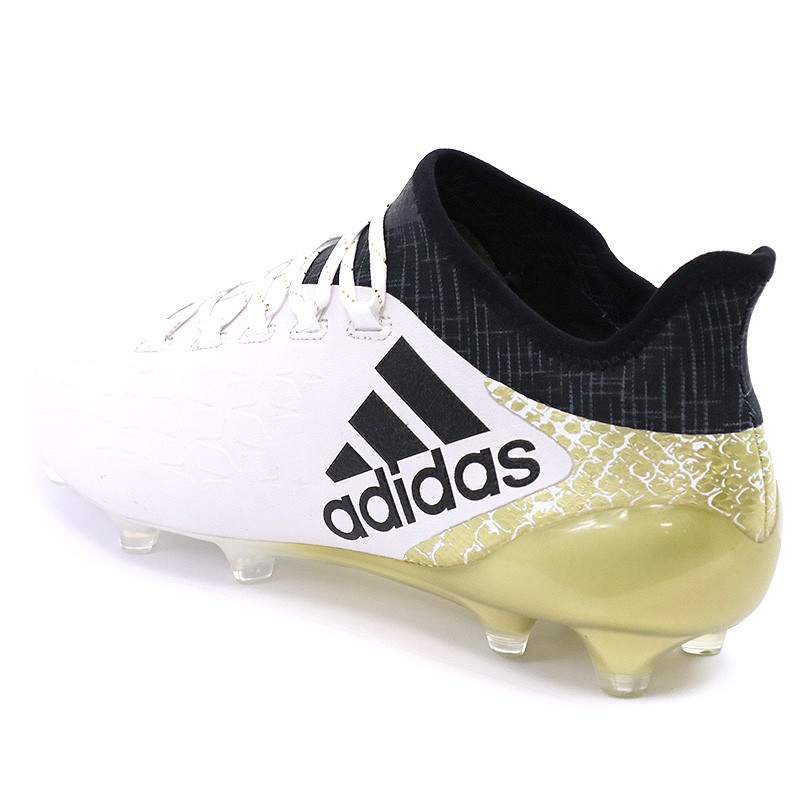 Chaussures X 16.1 FG Blanc Football Homme Adidas