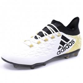 Chaussures X 16.2 FG Blanc Football Homme Adidas