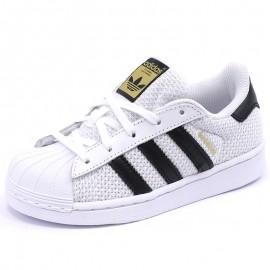 Chaussures Superstar Blanc Garçon/Fille Adidas