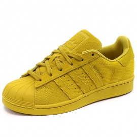 Chaussures Superstar Jaune Fille/Femme Adidas
