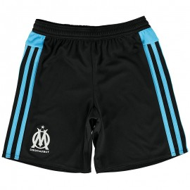 Short Olympique de Marseille Noir Football Garçon Adidas