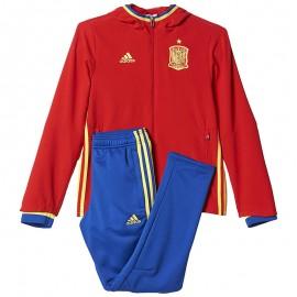 Survêtement Espagne Rouge Football Garçon Adidas