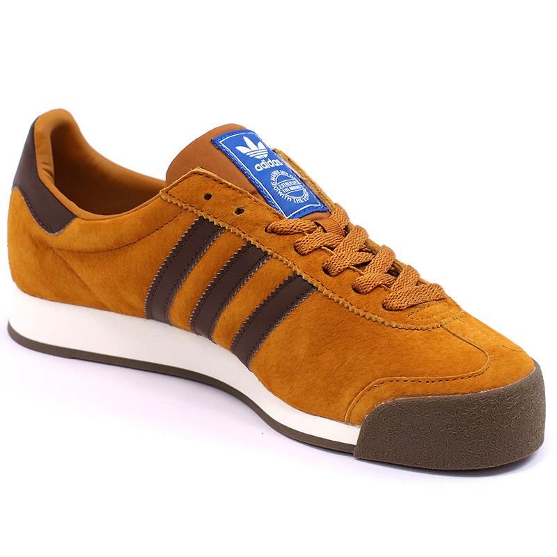 chaussures samoa vintage marron homme gar on adidas. Black Bedroom Furniture Sets. Home Design Ideas
