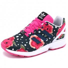 Chaussures ZX Flux J Noir Femme Adidas