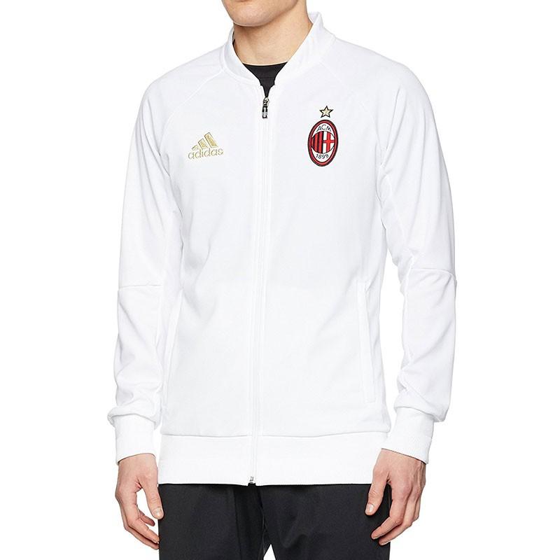 Veste ANTH JKT AC Milan Football Blanc Homme Adidas