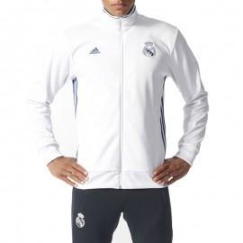 Veste 3S TRK Réal Madrid Football Blanc Homme Adidas