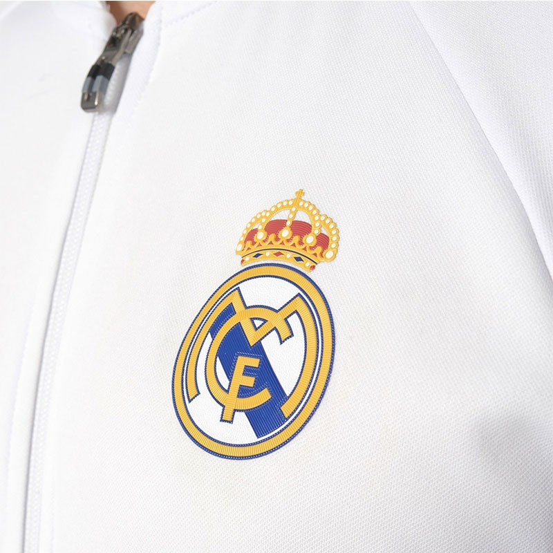 Veste ANTH JKT Réal Madrid Football Blanc Homme Adidas