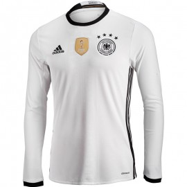 Maillot Allemagne UEFA Football Blanc Homme Adidas