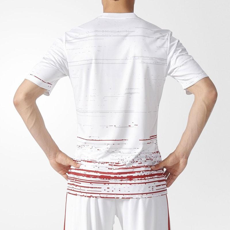 Maillot Football Entrainement Homme Adidas Blanc United Manchester UZprn8qUw