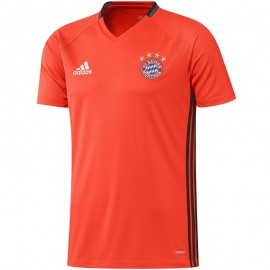 Maillot Entrainement Bayern Munich Football Orange Homme Adidas