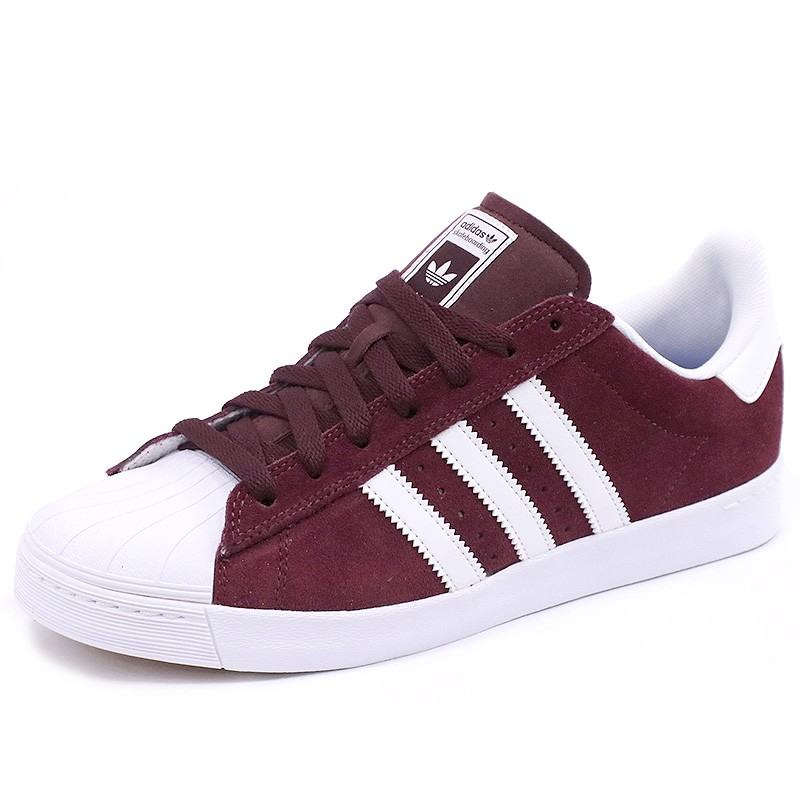 huge discount 3bb83 d6dc8 Chaussures Superstar Vulc Adv Rouge Skateboard Homme Adidas