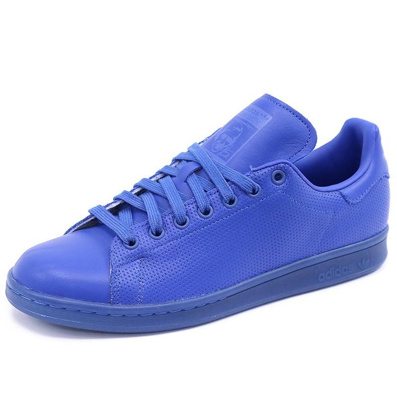 dec739a824d47 Chaussures Stan Smith Adicolor Bleu Homme Garçon Adidas