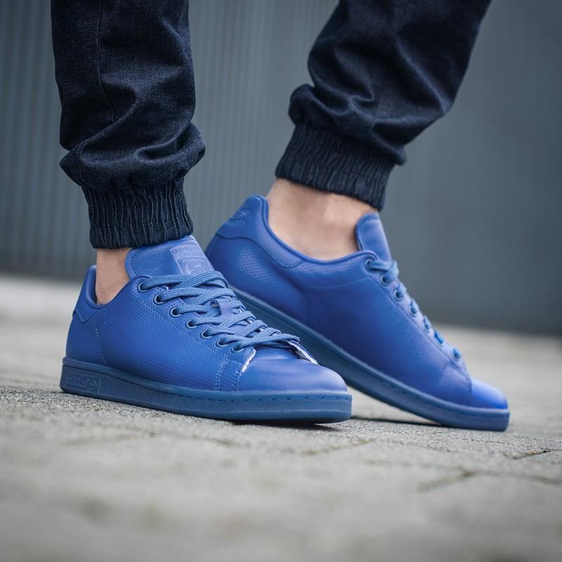Chaussures Stan Smith Adicolor Bleu HommeGarçon Adidas