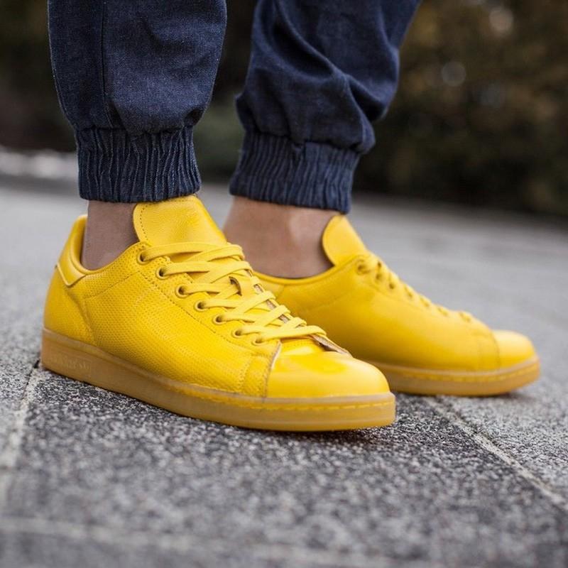 Chaussures Stan Smith Adicolor Jaune Homme/Femme Adidas