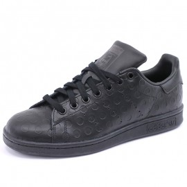 Chaussures Stan Smith Noir Femme/Fille Adidas