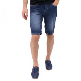Bermuda Denim POP Bleu Homme Crossby