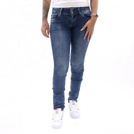 Jean Slim Vera Bleu Femme Pépé Jeans